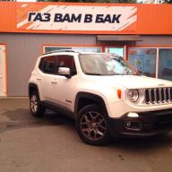 ГБО 4 на Jeep Renegade 1.4 Turbo 2016